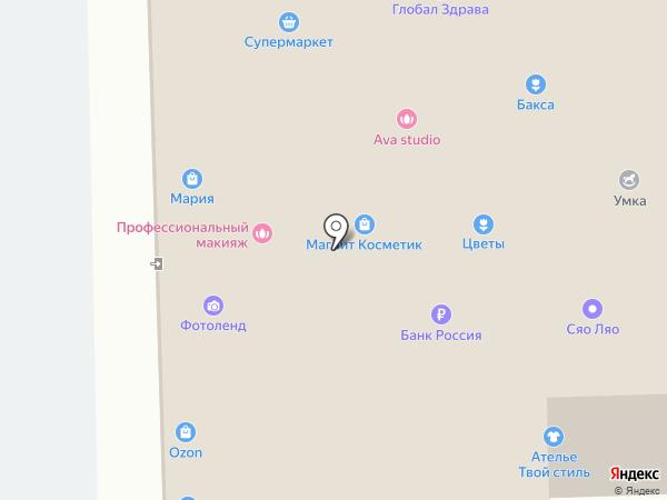 Эдельвейс на карте Салавата