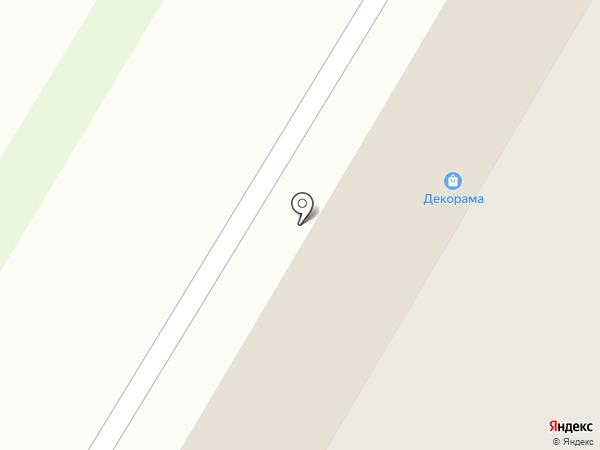 Декорама на карте Стерлитамака