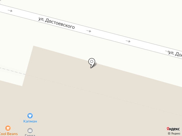 Сайт на карте Уфы