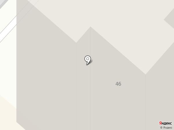 Фрик А.В. на карте Перми
