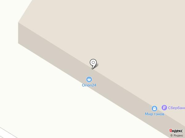 Богатырь на карте Стерлитамака