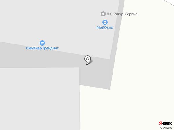 КОМПАНИЯ МОЁ ОКНО на карте Уфы