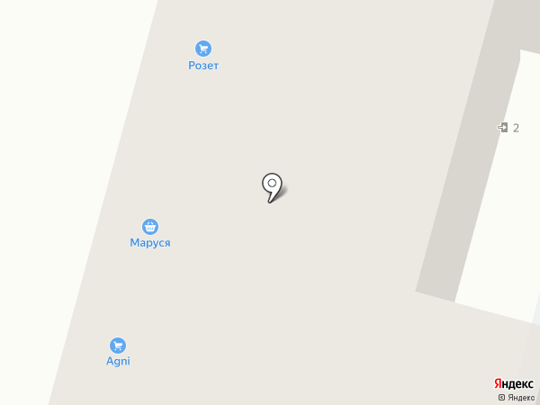 Уфимский трикотаж на карте Уфы