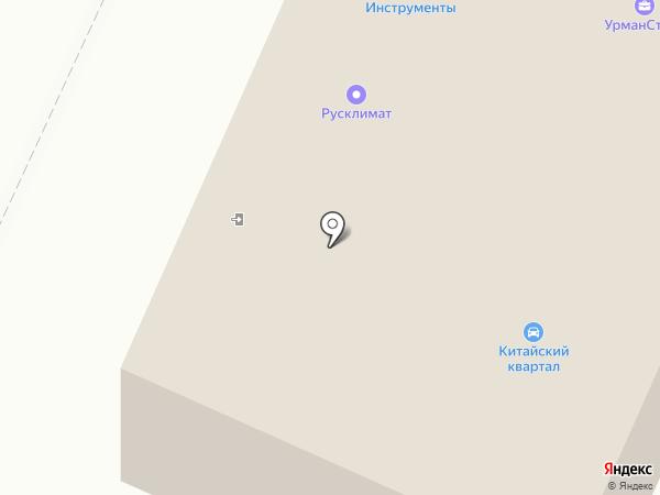 Гранит на карте Стерлитамака