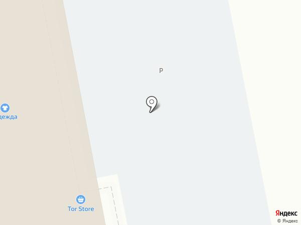 Красный Ключ-Аква на карте Уфы