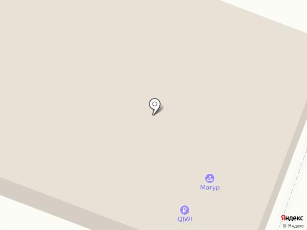 Цветочный салон на карте Уфы