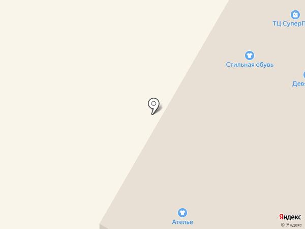 Девяточка на карте Стерлитамака