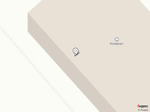 Гарант на карте Перми