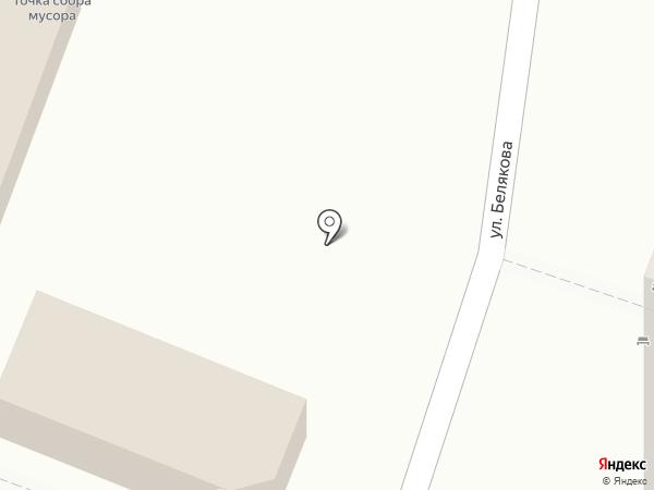 Продуктовый магазин на карте Уфы