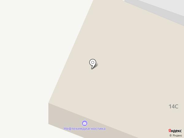 Нефтехимдиагностика на карте Стерлитамака