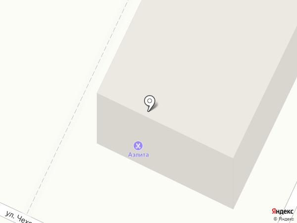 Аэлита на карте Стерлитамака