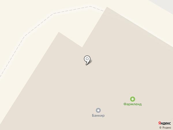 Силуэт на карте Стерлитамака
