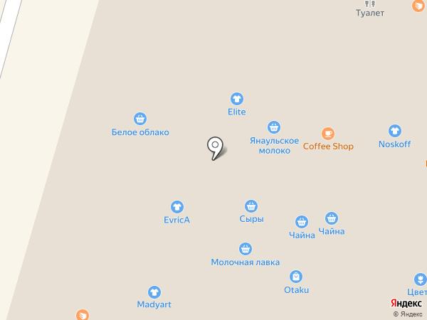 Сырная лавка на карте Уфы