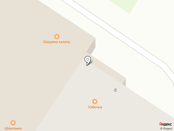 Караван Диван на карте Стерлитамака