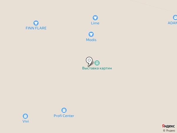 Infinity на карте Уфы