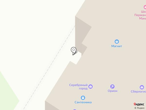 Поволжье-Интер на карте Стерлитамака