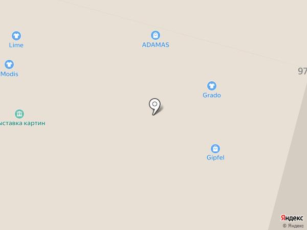 Крым Роза на карте Уфы