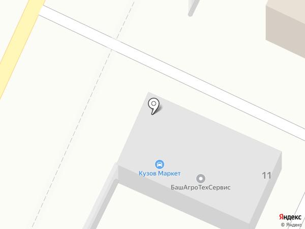 Деоль на карте Стерлитамака