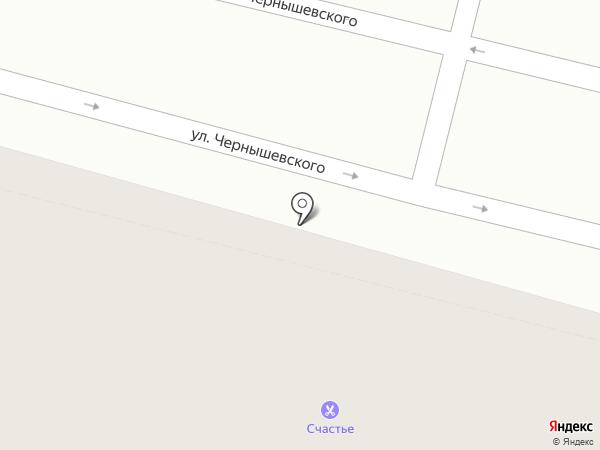 СЧАСТЬЕ на карте Уфы