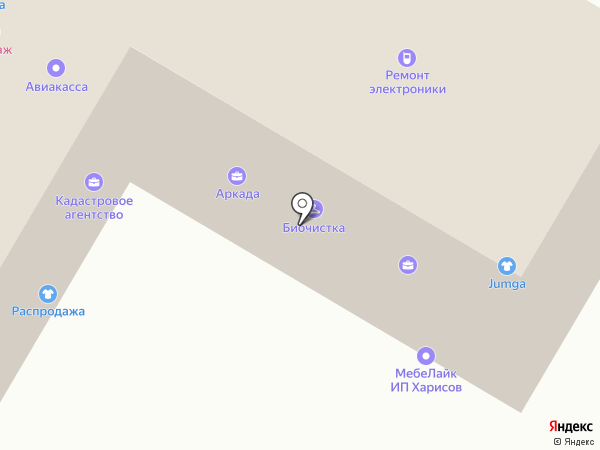 Флёр на карте Стерлитамака