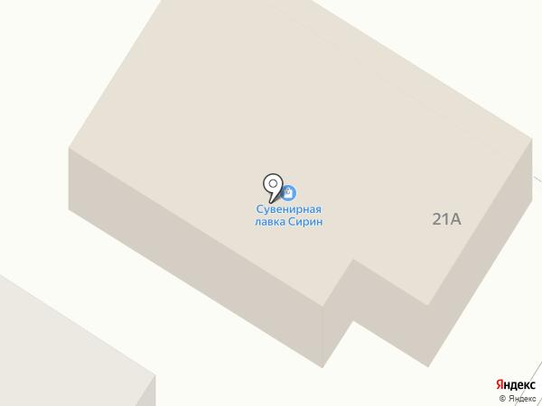 Скарабей на карте Стерлитамака