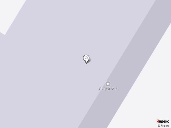 Лицей №3 на карте Стерлитамака