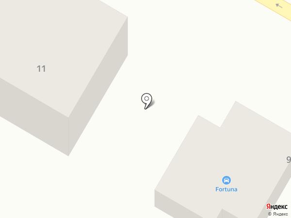 Fortuna на карте Стерлитамака