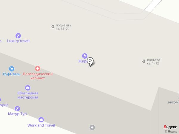 Анкор-Сервис на карте Уфы