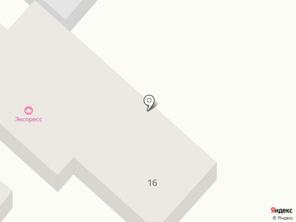 Экспресс на карте Салавата