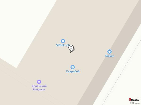 Декор Окна на карте Стерлитамака