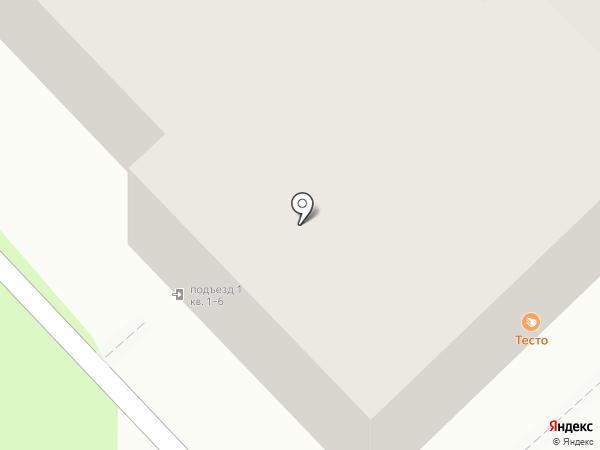 ТЕСТО мануфактура на карте Перми