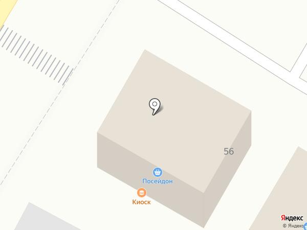 Посейдон на карте Стерлитамака
