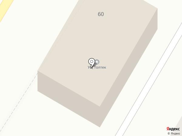 Вектор на карте Стерлитамака