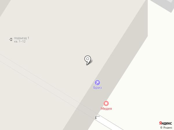Медея на карте Стерлитамака