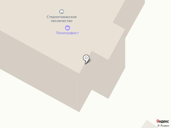 Стерлитамакское лесничество на карте Стерлитамака
