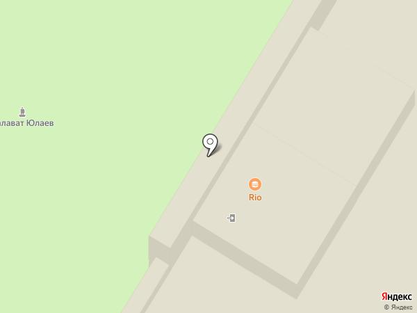 Pizza RIO на карте Стерлитамака