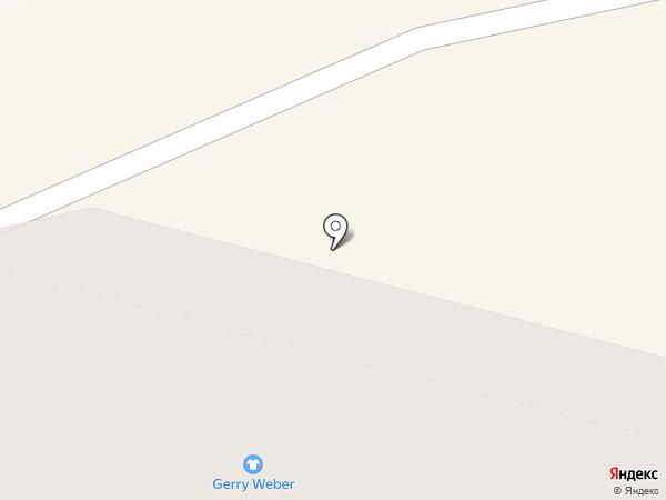 Галатея на карте Уфы