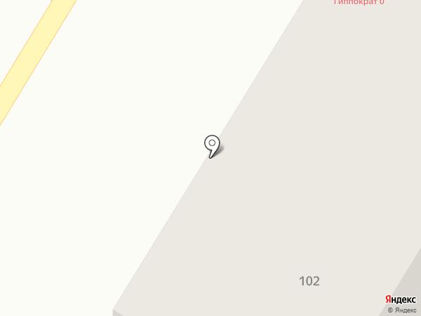 Гиппократ на карте Стерлитамака