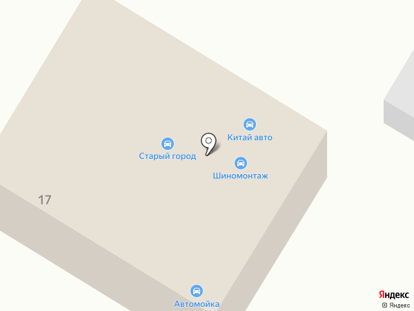 Автосервис по ремонту Chery, Ford, Toyota на карте Стерлитамака