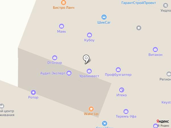 Экстра на карте Уфы