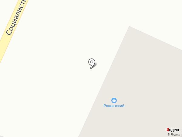 Рощинский, ГУСП на карте Стерлитамака