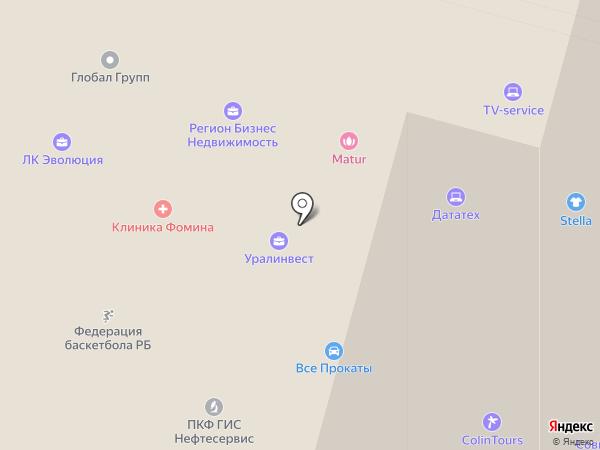 БиоБирск на карте Уфы