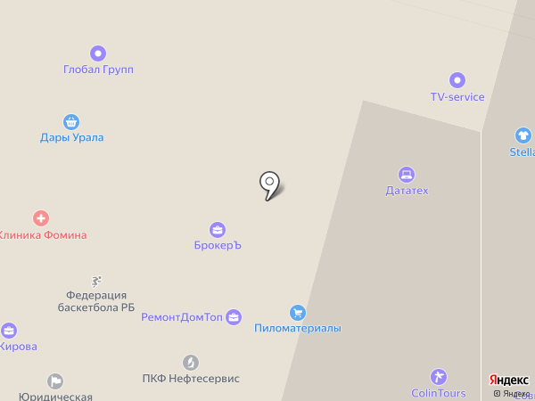 ФинДиплом на карте Уфы