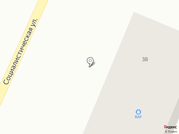 Лига Ставок на карте Стерлитамака
