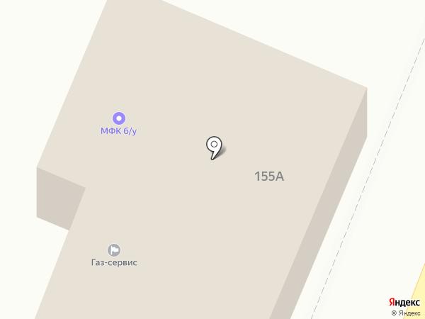 ГАЗ-СЕРВИС на карте Уфы