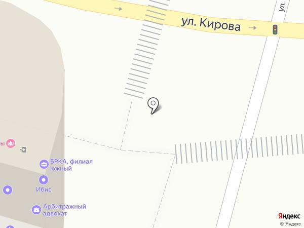 Рикер Восток на карте Уфы