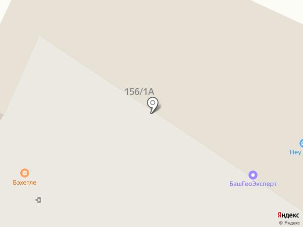 Трансгидсервис на карте Уфы