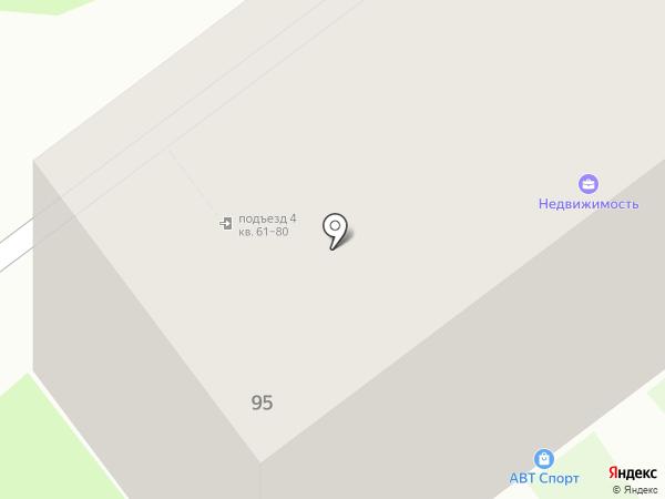 АВТ Спорт на карте Перми