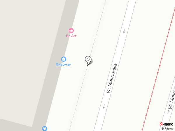 Имидж на карте Уфы