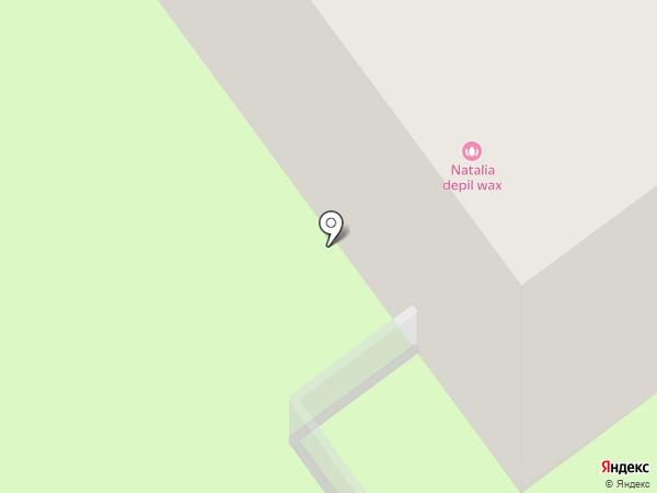 Северок на карте Перми